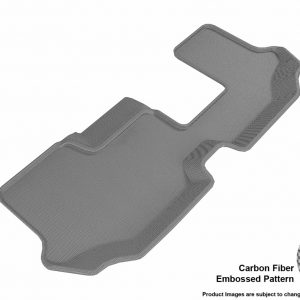 3D MAXpider L1VW08431501 Compatible for VOLKSWAGEN ATLAS WITH BENCH 2ND ROW 2018-2019 KAGU GRAY R3