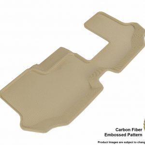 3D MAXpider L1VW08431502 Compatible for VOLKSWAGEN ATLAS WITH BENCH 2ND ROW 2018-2019 KAGU TAN R3