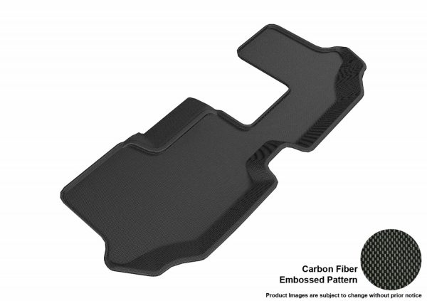 3D MAXpider L1VW08431509 Compatible for VOLKSWAGEN ATLAS WITH BENCH 2ND ROW 2018-2019 KAGU BLACK R3