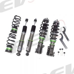 Rev9(R9-HB-1091_1) Hyper-Street Basic Coilovers, Mono Tube, Ride Height/32-Way Damping Force Adjustable, Nissan Maxima 2009-14