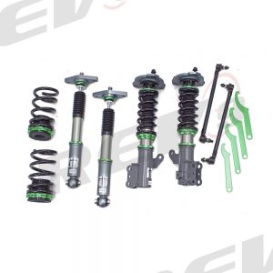 Rev9 Compatible With Hyundai Genesis Coupe 2011-17 Hyper-Street 3 Coilovers w/ Inverted Shocks, Performance Lowering Kit