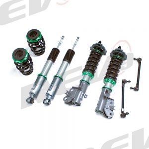 Rev9 Compatible With Honda Civic LX/EX 2012-15 Hyper-Street 3 Coilover Kit w/ Inverted Shocks