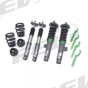 Rev9 Compatible With BMW 3-Series(E46) RWD 2000-06 Hyper-Street 3 Coilover Kit w/ Inverted Shocks