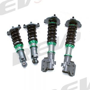 Rev9 Compatible with Subaru Impreza WRX 2008-14 Hyper-Street 3 Coilover Kit w/ Inverted Shocks