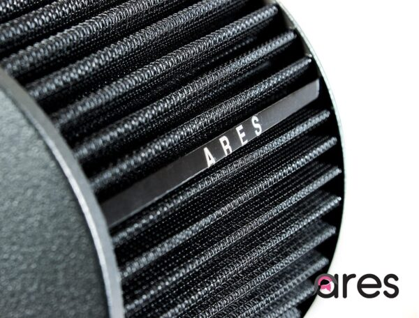 """Ares black 3"""" Universal Dry Air Filter Cone Dry Filter Replacement"""